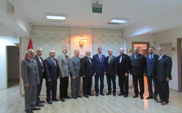 Kırıkkale TEMAD İl Başkanlığı Genel Merkezimizi Ziyaret Ettiler