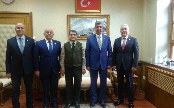 Genelkurmay Başkanlığı Personel Başkanı Korgeneral Selçuk Bayraktaroğlu'nu TEMAD Yönetim Kurulu olarak ziyaret ettik.