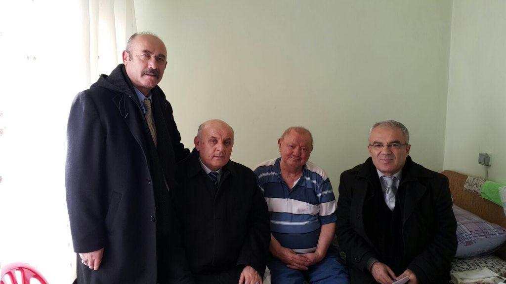 85 Yaşındaki Havacı abimizi huzurevinde ziyaret ettik