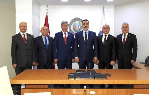 MİT Müsteşarı Sayın Hakan Fidan'ı TEMAD Yönetim Kurulu Olarak Ziyaret Ettik