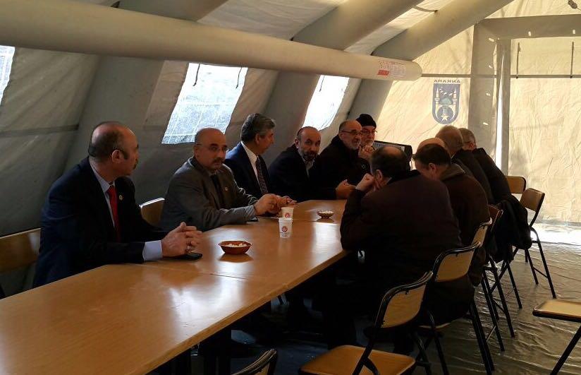 Afrin Şehidi Asb. Üçvş. Musa Özalkan'ın Baba Ocağını ziyaret ettik
