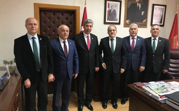 MSB Bakan Yardımcısı Sayın Şuay ALPAY'ı TEMAD Yönetim Kurulu Olarak Ziyaret Ettik