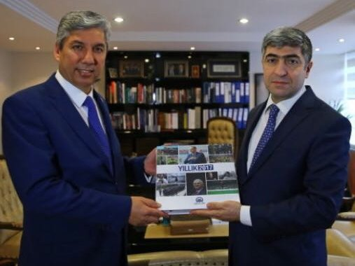 TEMAD'dan Anadolu Ajansı'na Ziyaret