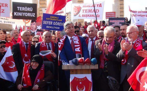 Türkiye Emekli Astsubaylar Derneği silah arkadaşlarına destek için sınırda...