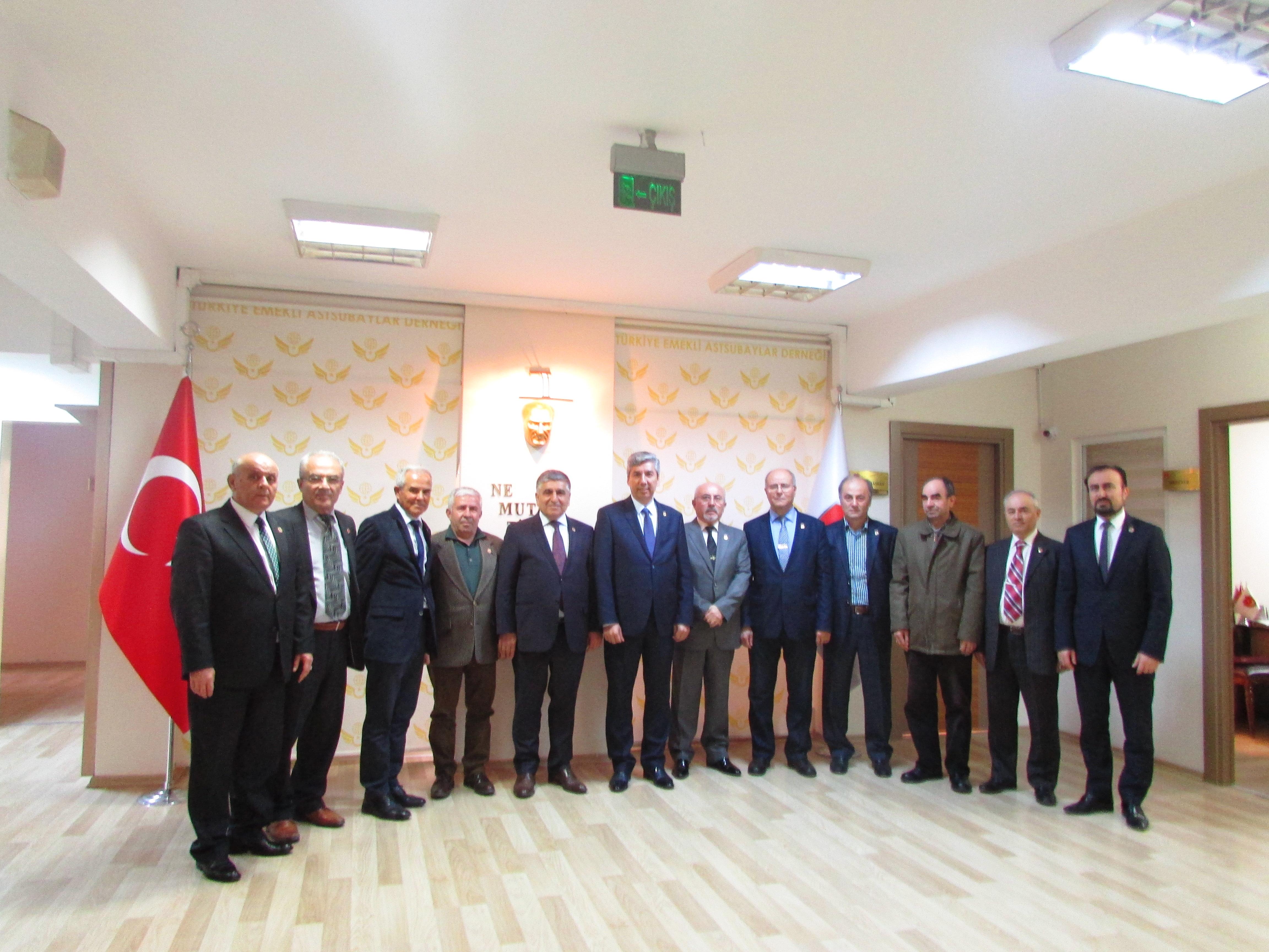 Etimesgut Şubesi Genel Merkezi Ziyaret etti.