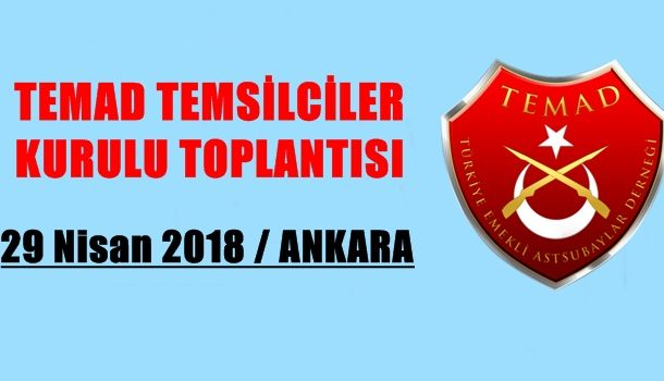 TEMAD  TEMSİLCİLER KURULU  TOPLANTISI
