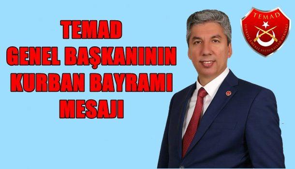 TEMAD Genel Başkanı Hamza DÜRGEN'in Kurban Bayramı Mesajı