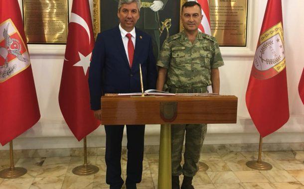 TEMAD'IN KIBRIS TÜRK BARIŞ KUVVETLERİ KOMUTANLIĞI ZİYARETİ.