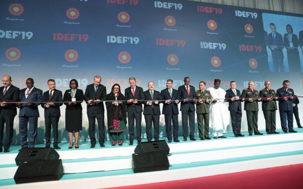 TEMAD IDEF 2019'A KATILDI