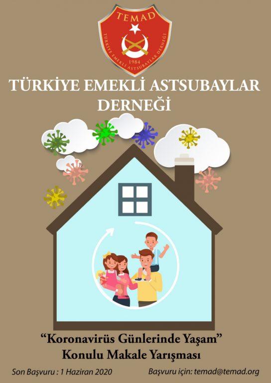 TEMAD MAKALE YARIŞMASI DEVAM EDİYOR (2020/10)