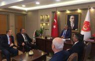EMUJAD Genel Başkanı Sn Şeref Çayırtepe ve EMUZDER Genel Başkanı Sn Esef Merdoğlu Genel Merkezimizi Ziyaret ettiler