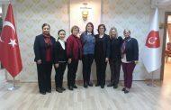 Narlıdere Şubemizin Kadın Kolları Başkanı Meral Şafak ve Eşinin Derneğimizi Ziyaretleri