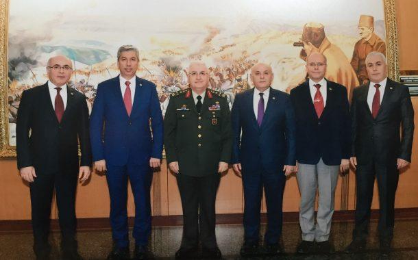 Kara Kuvvetleri Komutanı Orgeneral Yaşar GÜLER'i TEMAD Yönetim Kurulu olarak ziyaret ettik