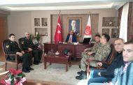 Ankara garnizonunda görev yapan Astsubay meslektaşlarımız Genel Merkezimizi ziyaret ettiler