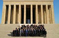 TEMAD Genel Başkanlığı Anıtkabir Ziyareti