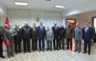 Derneğimiz Kurucu Üyesi Mehmet Daragenli ve Meslektaşlarımız Genel Merkezimizi Ziyaret Ettiler