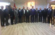 Etimesgut TEMAD İlçe Başkanı Sn Metin Çevrim ve beraberindeki heyet TEMAD Genel Başkanlığımızı ziyareti
