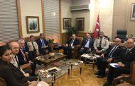 Milli Savunma Bakanlığı Müsteşarı Sayın Ali FİDAN'ı TEMAD Genel Merkez Yönetim Kurulu Olarak Ziyaret Ettik