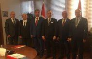 OYAK Genel Müdürü Sn Süleyman Savaş Erdem'i TEMAD Yönetim Kurulu olarak Ziyaret ettik