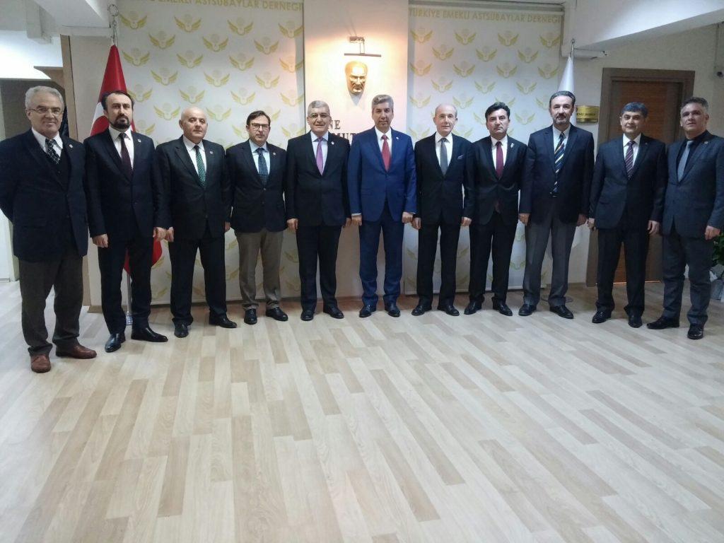TEMAD eski Yüksek Denetleme ve Disiplin Kurulu Başkanları Genel Merkezimizi ziyaret ettiler.