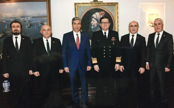 Deniz Kuvvetleri Komutanı Koramiral Adnan ÖZBAL'ı TEMAD Yönetim Kurulu olarak ziyaret ettik