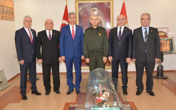 Ankara Garnizon Komutanı Korgeneral Ali SİVRİ'yi TEMAD Yönetim Kurulu olarak ziyaret ettik