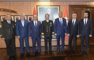Sahil Güvenlik Komutanı Tuğamiral Bülent OLCAY'I TEMAD Yönetim Kurulu olarak ziyaret ettik