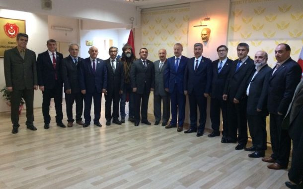 TEMAD Çankırı İl Başkanı İsmail Emir ve beraberindeki heyet Genel Merkezimizi ziyaret ettiler