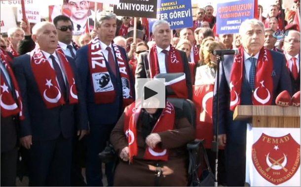 Türkiye Emekli Astsubaylar Derneği silah arkadaşlarına destek için sınırda…