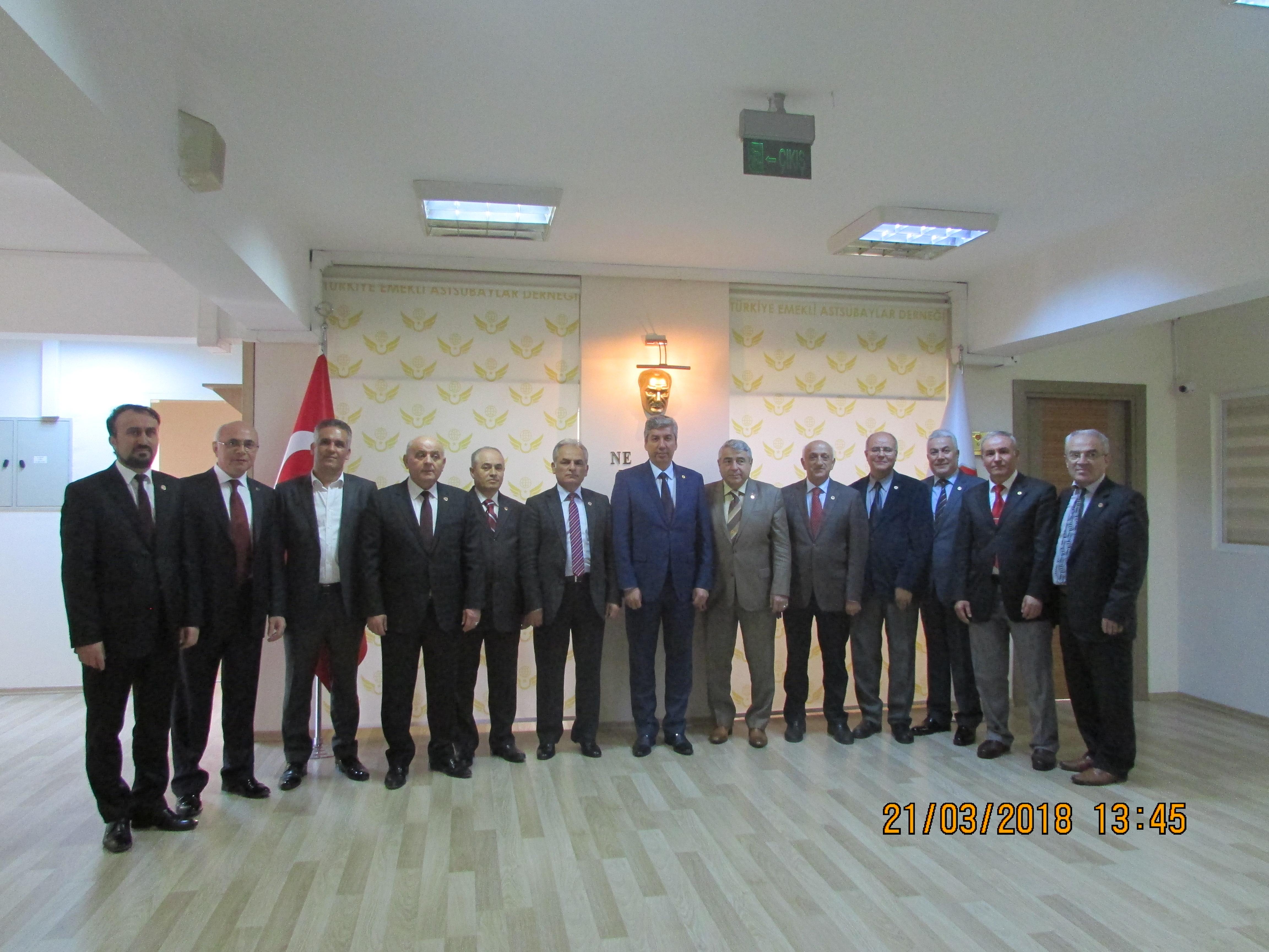 TEMAD Yönetimine Katılan Arkadaşlarımız