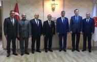TSK Dayanışma Vakfı Genel Müdürü ve Yönetimi Genel Merkezimizi Ziyaret Ettiler