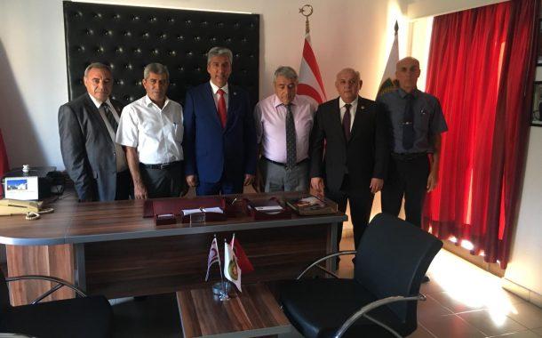 TEMAD'IN K.K.T.C. EMEKLİ POLİSLER DERNEĞİNİ ZİYARETİ.