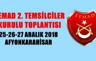 TEMAD 2. TEMSİLCİLER KURULU TOPLANTISI