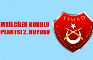 TEMSİLCİLER KURULU TOPLANTISI 2. DUYURU