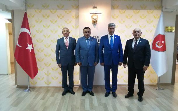 AZERBAYCAN SİVİL TOPLUM KURULUŞLARINA DEVLET DESTEĞİ KONSEYİ ÜYESİ SN. EMİN HASANLI'NIN ZİYARETİ