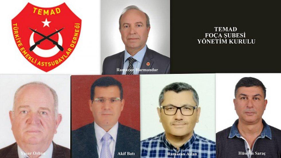 FOÇA ŞUBE BAŞKANI SN. RAMAZAN HARMANDAR GÜVEN TAZELEDİ